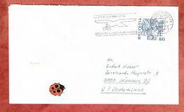 Brief, EF Vogel Gryff Basel, MS Luftpostpakete Schaffhausen, Nach Muenchen 1984 (52444) - Lettres & Documents