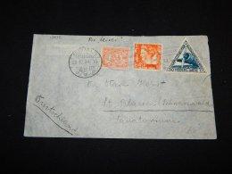 Netherlands Indies 1934 Soerabaja Air Mail Cover To Germany__(L-13838) - Niederländisch-Indien