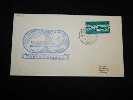 Portugal 1974 Fregatte Augsburg Ponta Delgada Cover__(L-15477) - Lettere