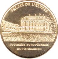 75008 PARIS PALAIS DE L'ÉLYSÉE N°3 MÉDAILLE MONNAIE DE PARIS 2012 JETON MEDALS TOKEN COINS - 2012