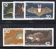 284 - 490 - ALBANIA 1983 ,    Yvert N. 2816/2820 ***  MNH   Mammiferi - Albania