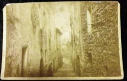PHOTOGRAPHIE ANCIENNE : HYERES PHOTOGRAPHE J. GAUTIER  GRAND BAZAR EUROPEEN 83 VAR - Hyeres