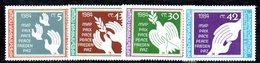 301 - 490 - ALBANIA 1984 ,    Yvert N. 2822/2825 ***  MNH  Pace - Albania