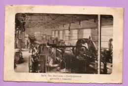 Salle Des Machines - Compresseurs Installation à Goppenstein - Francia