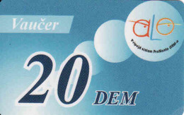 Montenegro 2003, Mobile Alo Pro Monte 20 DEM - Montenegro