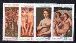 321a - 490 - ALBANIA 1984 ,    Yvert N. 2888/2891 ***  MNH  Raffaello - Albanie