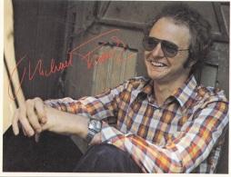 MICHAEL FRANK, Rennbahn-Express-Autogrammkarte Mit Autogramm (gedruckt), Rückseitig Alle Daten Zur Person - Autogramme
