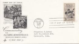 USA 1957 - FDC Brief - Ersttagsbelege (FDC)