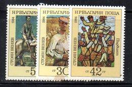 332 - 490 - ALBANIA 1984 ,    Yvert N. 2879/2881 ***  MNH - Albania