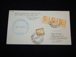 Sweden 1978 MS Nihon Paquebot Cover__(L-15220) - Svezia