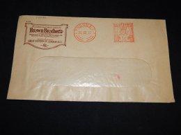 UK 1935 London Meter Mark Cover__(L-14070) - 1902-1951 (Kings)