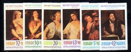 504 - 490 - ALBANIA 1986 ,    Yvert N. 3056/3061 ***  MNH  TIZIANO - Albania