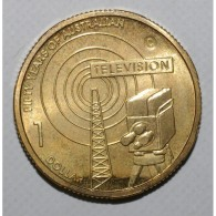 AUSTRALIA - 1 DOLLAR 2006 C - TELEVISION - FLEUR DE COIN - Decimal Coinage (1966-...)