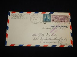 USA 1930 Washinton Air Mail Cover To Germany__(L-14896) - 1c. 1918-1940 Briefe U. Dokumente