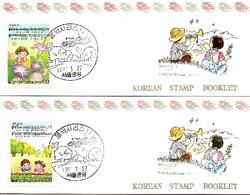 KOREA SOUTH, 1991, Booklet Philatelic Center 60/61, Music - Corea Del Sud