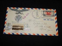 USA 1941 USS Dunlap Cover__(L-13932) - Vereinigte Staaten