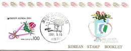 KOREA SOUTH, 1991, Booklet Philatelic Center 65, Teacher's Day - Corea Del Sud
