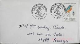 FR. 1991 FDC. 1er Jour - Le Martin Pêcheur - Dôle Le 14.9.1991 - En TBE - FDC