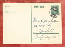 P 181 Ebert, Lintfort Nach Krefeld 1931 (52463) - Ganzsachen