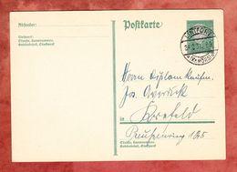 P 181 Ebert, Lintfort Nach Krefeld 1931 (52463) - Allemagne