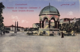 AK - CONSTANTINOPLE (Istanbul) - Kaiser Wilhelm Brunnen 1931 - Türkei