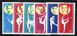 506 - 490 - ALBANIA 1987 ,    Yvert N. 3109/3114 ***  MNH  Ritmica - Albania