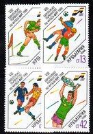 509 - 490 - ALBANIA 1988 ,    Yvert N. 3177/3180 ***  MNH Football Calcio Rimet - Albania