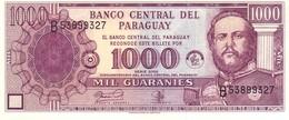 Paraguay P.214 1000 Guarani 2002  Unc - Paraguay