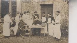 CARTE  PHTO   INFIRMERIE   LIEU INCONNU - Guerre 1914-18