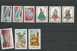 CAMEROUN  Scott 503-4, 512, 509-11, C150-2 Yvert P483-4, 492, 489-1, PA165-7 (9) ** Cote 13,00 $ 1970 - Cameroun (1960-...)