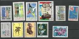 CAMEROUN  Voir Détail (11) ** Et *VVLH Cote 10,00 $ 1971 - Cameroun (1960-...)