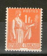 N° 286** Type II - 1932-39 Paix