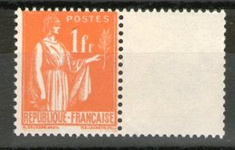N° 286** Type II_avec Inter-marge_ - 1932-39 Paz