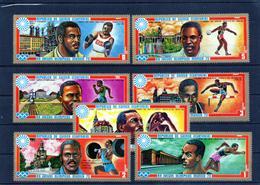 ++ Republica De Guinea Ecuatorial Año 1972 Munich Deportes Sellos Nuevos - Äquatorial-Guinea