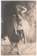 CARTE PHOTO CLEO DE MERODE REUTLINGER PARIS  CIRCULE - Opéra