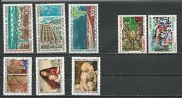 CAMEROUN  Scott C161-C163, 525-526, C178-C180 Yvert PA176-PA178, 504-505, PA193-PA195 (8) ** Cote 9,75 $ 1971 - Cameroun (1960-...)