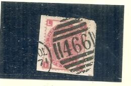 /// GRANDE BRETAGNE ///  N° 33 Three  Pence Planche 6  Côte 50€ - 1840-1901 (Victoria)