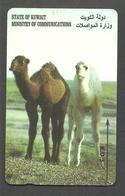 USED PHONECARD KUWAIT CAMEL - Kuwait