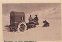 Missien Van Scheut: China, Een Zware Tocht Door Een Sneeuwveld (pk46710) - Chine