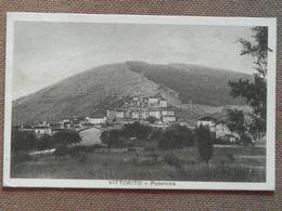 VITTORITO -PANORAMA    --  1937  - -FP  --BELLISSIMA  - - L'Aquila