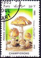 Afghanistan - Perlpilz (Amanita Rubescens) (MiNr: 1413) 1985 - Gest Used Obl - Afghanistan
