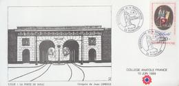 Carte  Bicentenaire  De  La   REVOLUTION     RONCHIN    1989 - Révolution Française