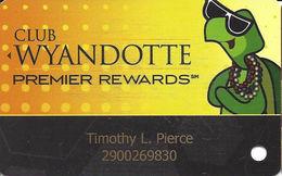 Wyandotte & Turtle Creek Casinos Oklahoma - Slot Card - Casino Cards