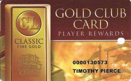 Stables Casino - Maimi, OK - Slot Card - Casino Cards