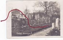 Chatel Sammelgrab Friedhof Cimetière   Carte Photo Allemande 1° WK - Other Municipalities