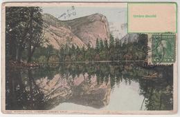 CPA- ETAT-UNIS- Mirror Lake. YOSEMITE VALLEY, Calif. 1914-2scans - Yosemite