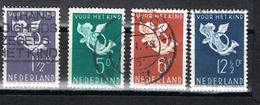 Niederlande 297/300 Gestempelt - Vor Heet Kind 1936 - 1891-1948 (Wilhelmine)