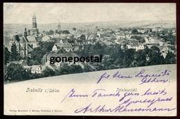 1393 - GERMANY Trebnitz/ POLAND Trzebnica 1904 Totalansicht. Bahnpost - Schlesien