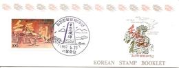 KOREA SOUTH, 1992, Booklet Philatelic Center 94, 400y Im-Jin War Outbreak - Corea Del Sud