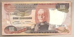 Angola - Banconota Circolata Da 100 Scudi P-101 - 1972 - Angola